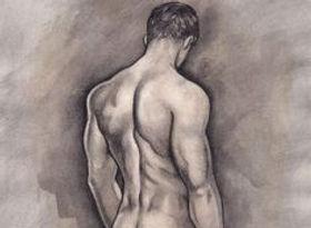 Paint a Live Male Model