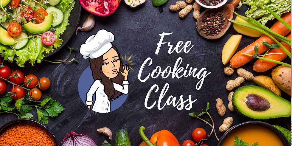 Free Plant-Based Cooking Class + Q&A 👩🍳🌱