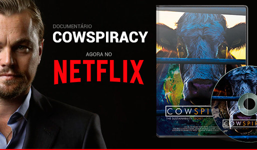 "Did you know Leonardo Dicaprio was the Executive Producer of ""Cowspiracy"""