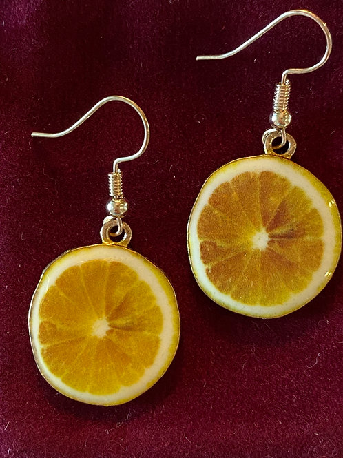 Lemon Earrings 🍋
