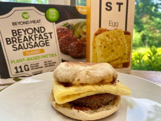 Vegan Sausage & Egg McMuffin Recipe 🌱