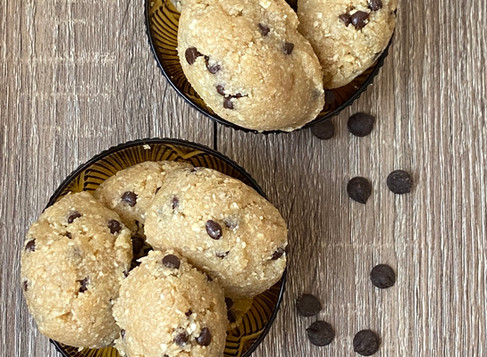 Keto Cookie Dough Fat Bomb 🍪