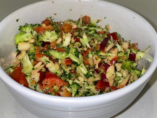 Raw Chopped Veggie Salad 🥗