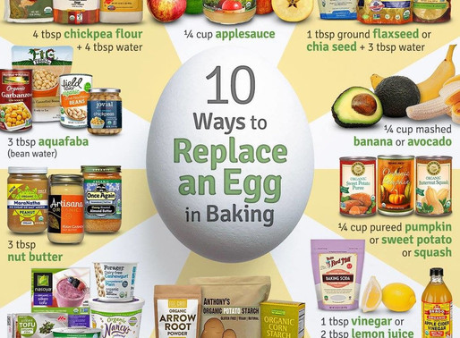 You don't need eggs to bake!