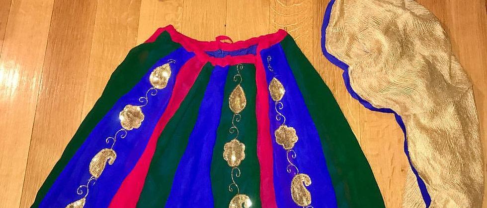 Indian Princess (4 piece set) Size XS