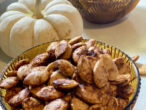 Roasted Spiced Pumpkin Seeds Recipe 🎃