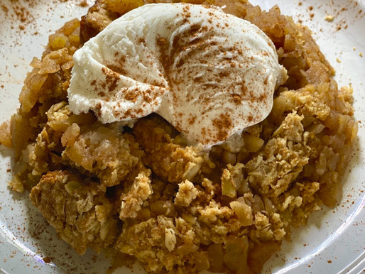 Apple Crumble Recipe 🥧