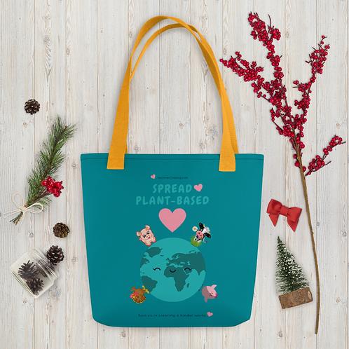 Spread Plant-Based ♥ Tote bag