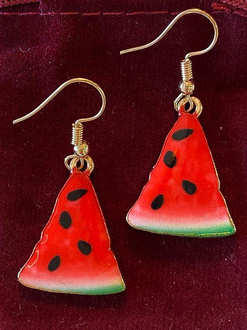 Watermelon Earrings 🍉