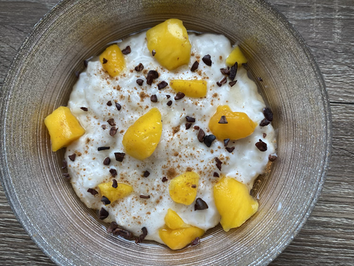 Coconut Rice Pudding 🥥