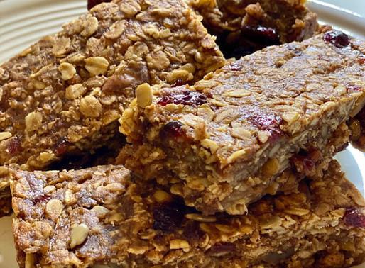 Chewy Cinnamon Apple Bars Recipe 🍎