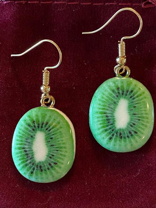 Kiwi Earrings 🥝
