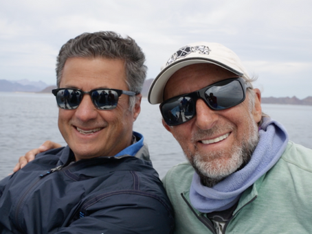 An IMF economist and the conservationist go whale watching…