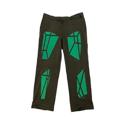 Pantalon Géométrique