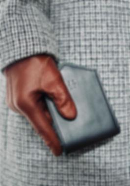 Leather wallet Paul