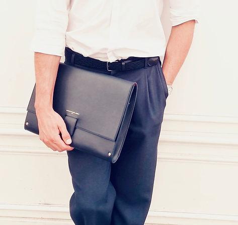Leather pouch Baltazar