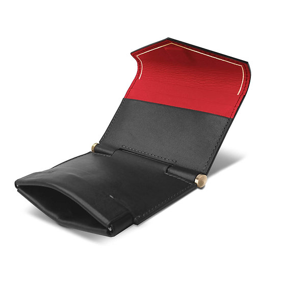 Gustave calf black/red