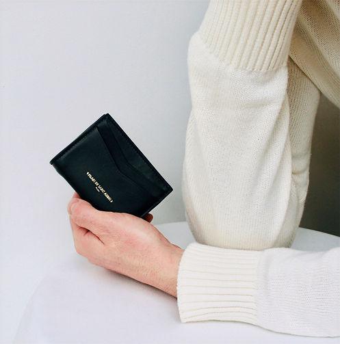 Compact wallet Leon