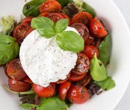 Buratta tomates