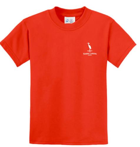 Youth Jimmy's Place Orange Shirt