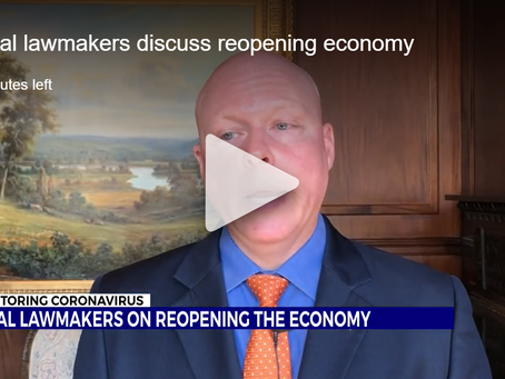 WJHL: Local lawmakers discuss reopening economy