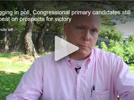 WJHL: Lagging in poll, Congressional primary candidates still upbeat on prospects for victory