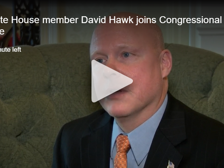 WJHL: State House member David Hawk joins Congressional race