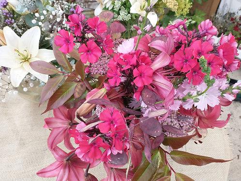 Cut flowers - seasonal bunches