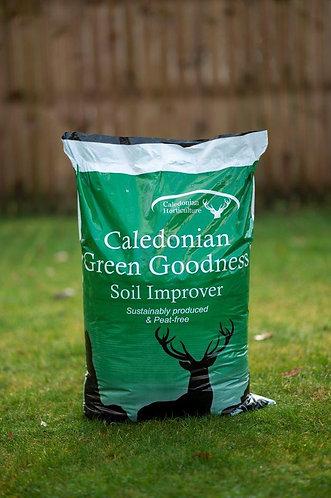 Green Goodness Peat Free Soil Improver 40L