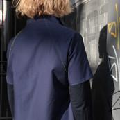 Wendejäckchen Mika, blau außen