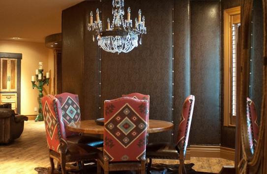 Upholstered walls
