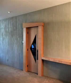 Custome textured wall