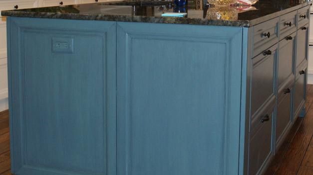 Custom Kitchen Cabinets (detail)