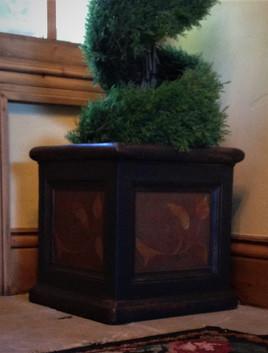 Custom Painted Flower Pot
