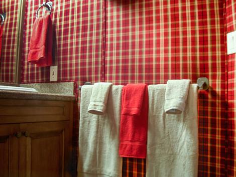 Upholstered bathhrom