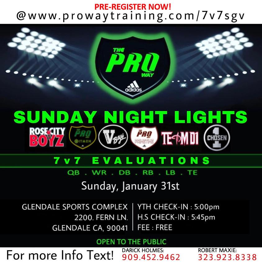 The Proway SGV Sunday Night Lights