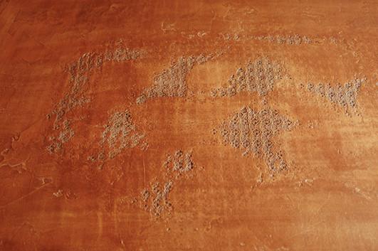 Powder bathrrom (detail of lace)