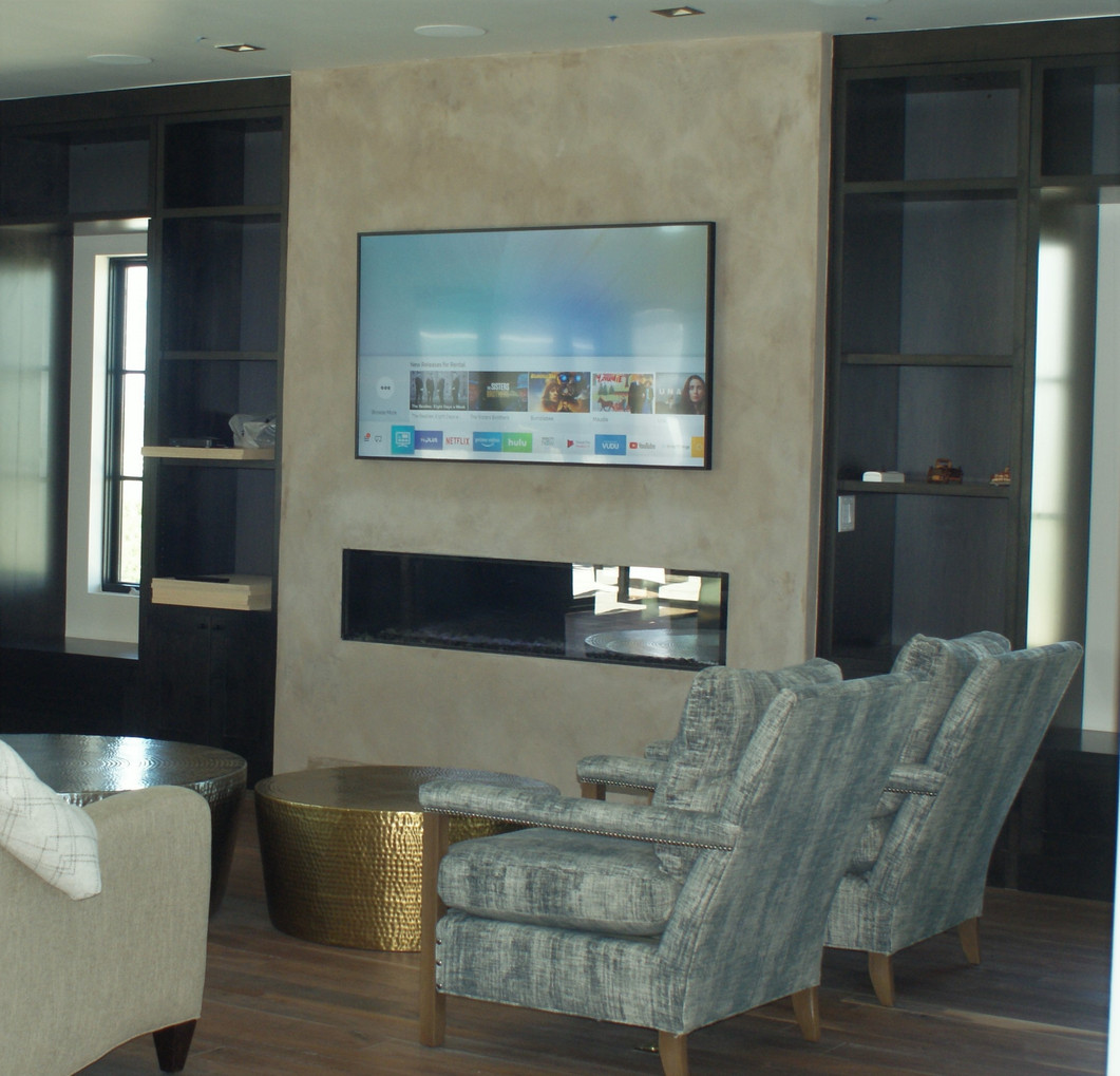 American Clay accent wall