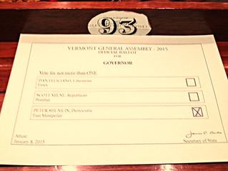 #93 and Gubernatorial Election