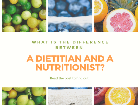 What is the Difference Between A Dietitian and a Nutritionist?