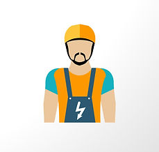 graphic of electrician for South Woodham Ferrers