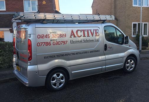 Active Electrical Solutions van