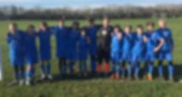 Radars U-13 football team