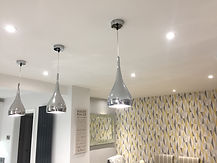 A recent lighting installation in South Woodham Ferrers