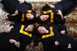影藝攝影-高雄學碩士照系列-學士團體紀念照