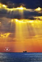 斜射光 西子灣 大船 耶穌光 聖光.jpg