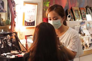 影藝攝影-專業妝髮與造型-高雄照相館- 特寫yingyi photo studi