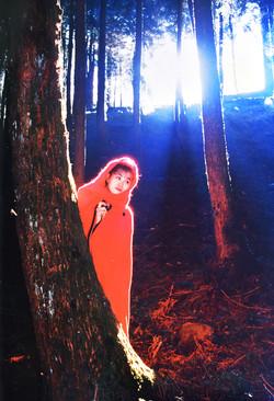 007-1986 柯達金牌軟片.少女人像攝影比賽  銀牌獎  紅衣女郎