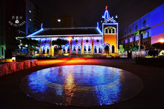 高雄鹽埕區夜景教堂 夜間攝影.jpg