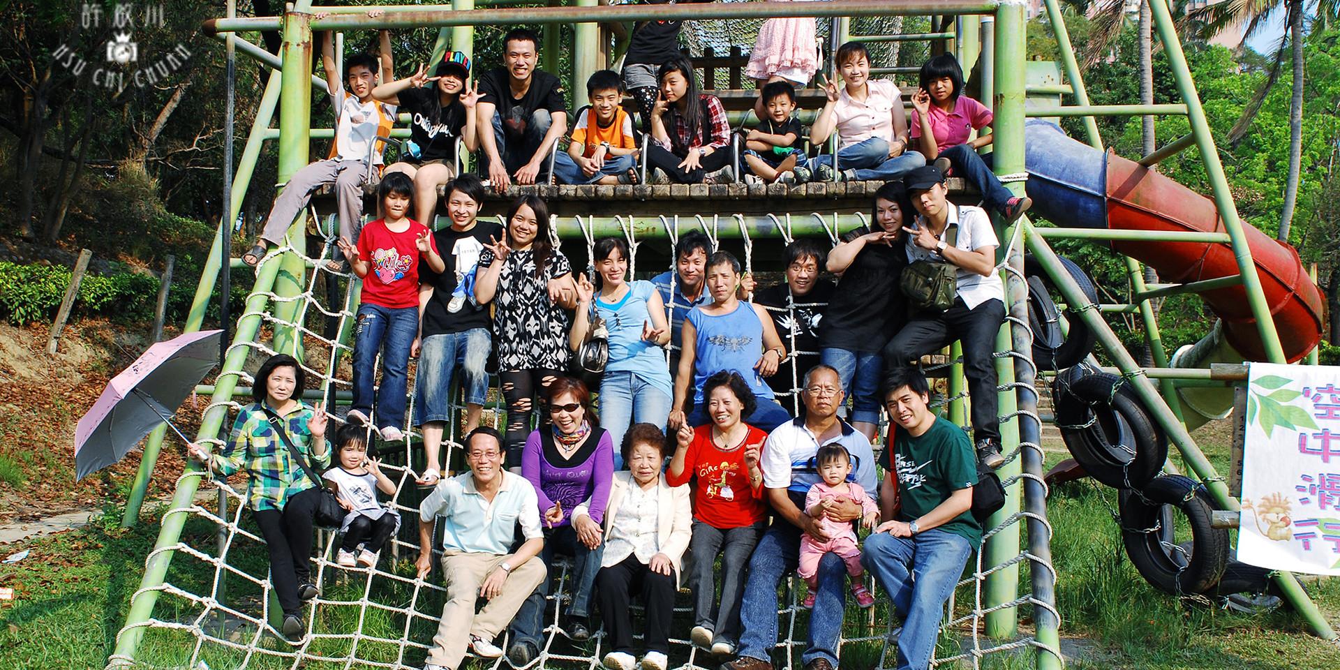 家人團體照